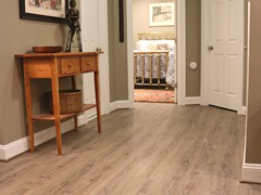 Luxury Vinyl Plank in nice wooden look