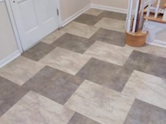 Unique pattern of Luxury Vinyl Tile